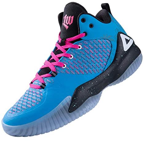 PEAK High Top Mens Basketball Shoes Lou Williams Streetball Master Breathable Non Slip Outdoor Sneakers Cushioning Workout Shoes for Fitness Clearwater, Florida