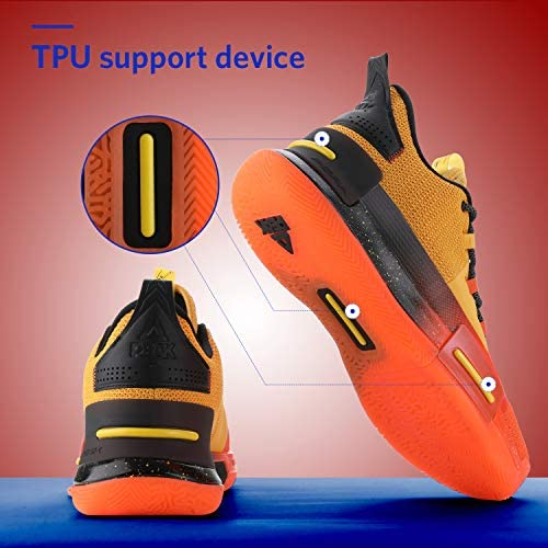 PEAK Mens Flash Basketball Shoes Lou Williams Underground Taichi Adaptive Cushioning Sneakers Non-Slip Sports Shoes for Running, Walking, Fitness Pasadena, California
