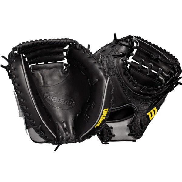 Wilson A2000 Superskin M2 Baseball Catcher' Mitt 33.5