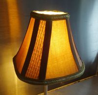 CANDLE SQUARE LAMPSHADE CLIP ON BULB FOR CHANDELIER