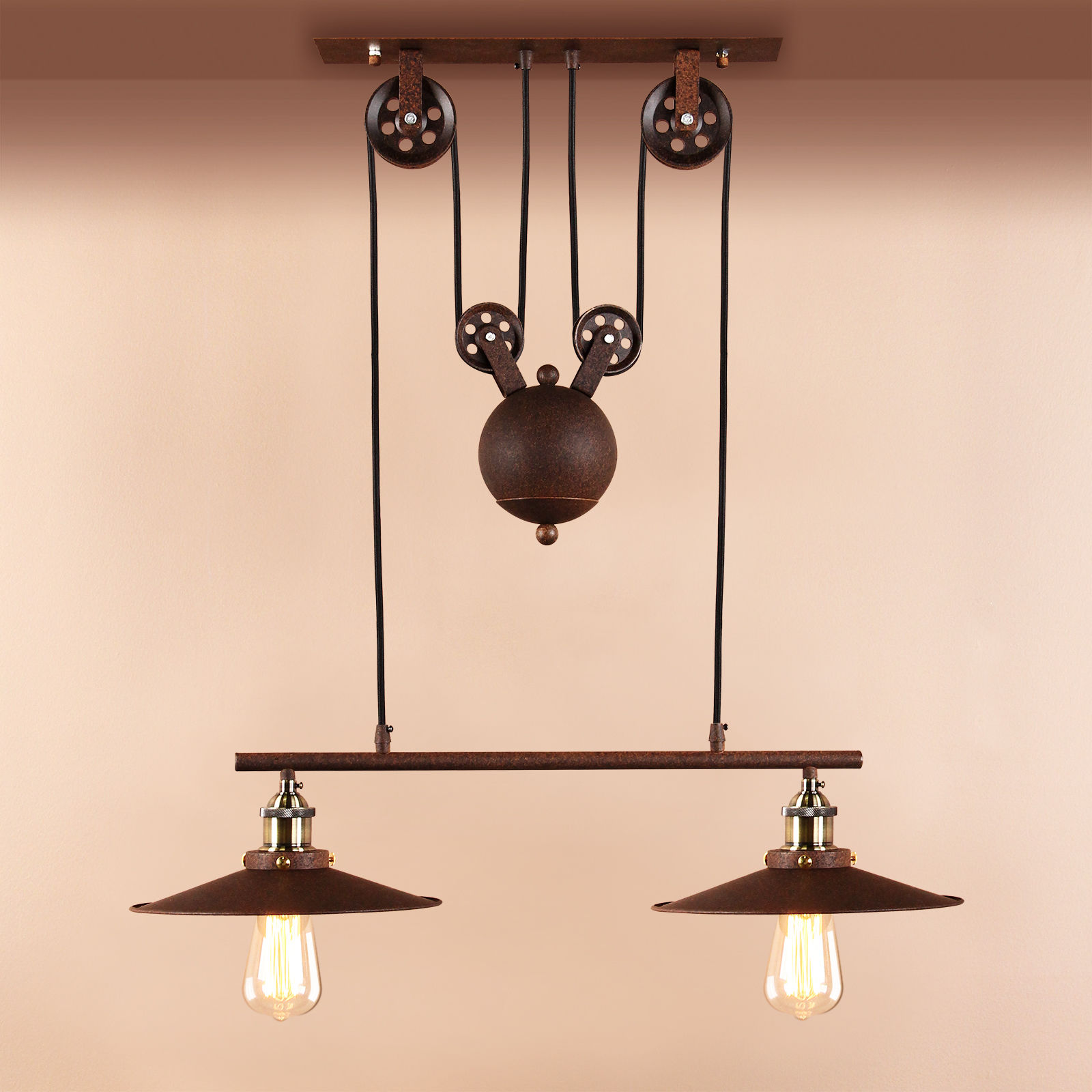 Retro Hanging Ceiling Light Vintage Industrial Pendant