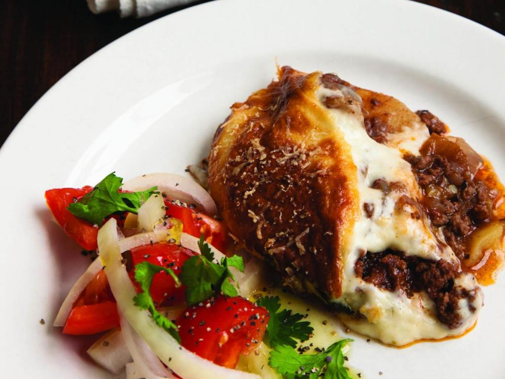 Classic Greek Moussaka Recipe