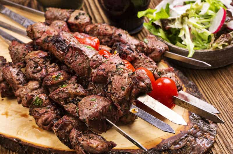 an alternative to the diner kebab recipe