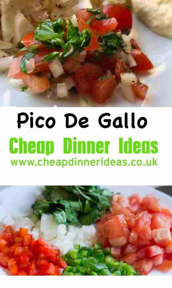 How to make pico de Gallo