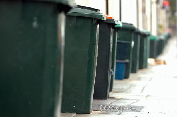 39 zero tolerance 39 over blue bins after nappies and leftover. Black Bedroom Furniture Sets. Home Design Ideas