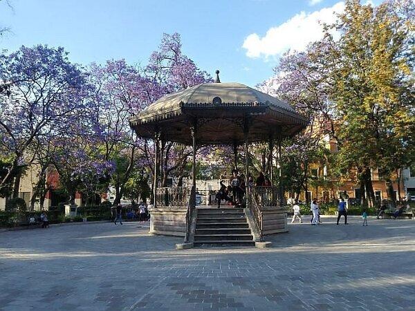 Cantador Park in Guanajuato Mexico