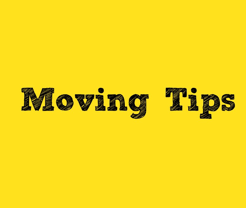 Singapore Moving Tips to make your life easier