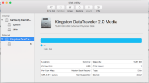 Step by step To format a USB Flash Drive to FAT32 on Mac OS X