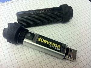 Corsair Flash Survivor Stealth v2 64 GB.