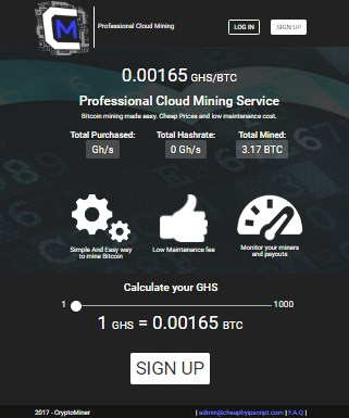 Bitcoin official websitebitcoin cloud mining script php