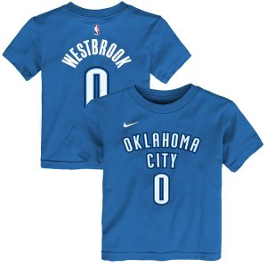 Preschool Oklahoma City Thunder Russell Westbrook  wholesale Limit Kevin Durant jersey