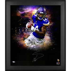 Autographed Minnesota Vikings Stefon Diggs Fanatics Authentic Framed 20