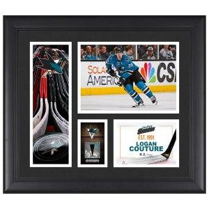 San Jose Sharks Logan Couture Fanatics Authentic Framed 15