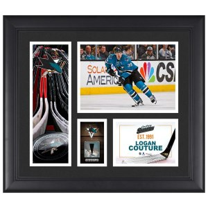 San Jose Sharks Logan Couture Fanatics Authentic Framed 15