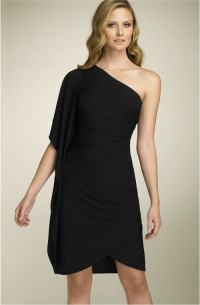 One Shoulder Mother of the Bride Dresses Gallery 1