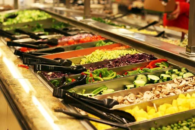 School Lunch Salad Bars