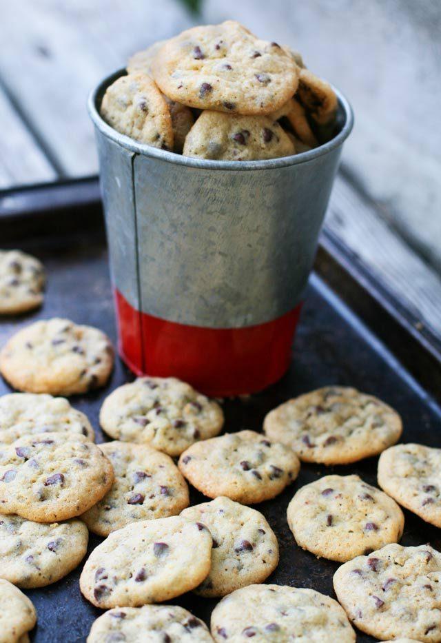 Mini Chocolate Chip Cookies – Cheap Recipe Blog