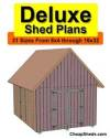 Deluxe Shed Plans