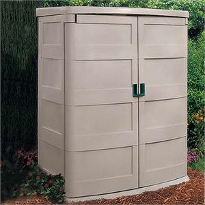 small storage shed plastic
