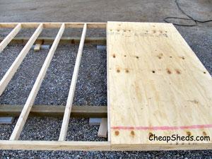 square and nail plywood