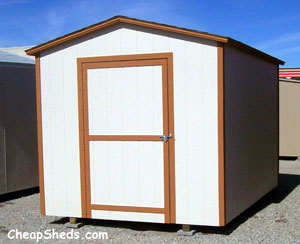 8x12 gable roof storage shed