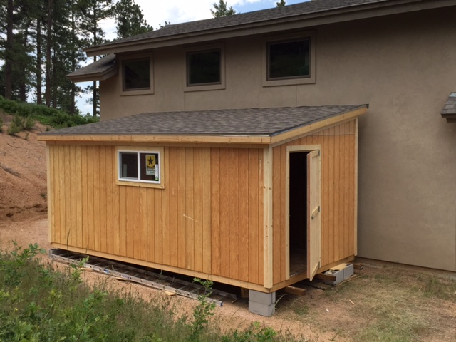 Lean to single sloped style shed photos for Lean to barn