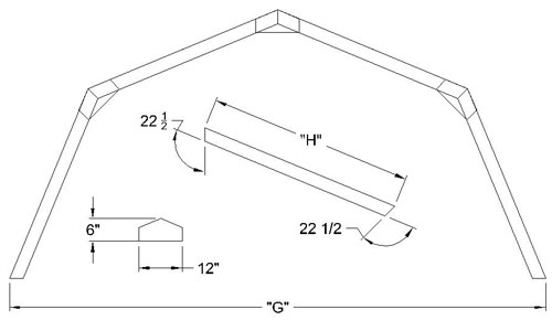 Barn Roof Truss
