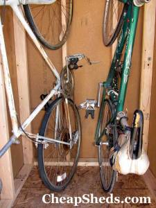 compact bicycle storage shed 4