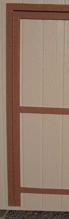 A hinge like this will keep your door from sagging.