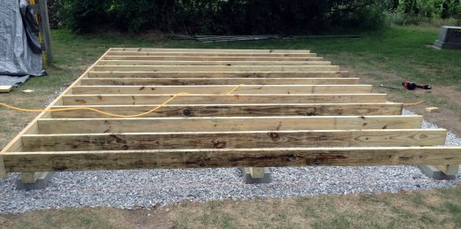 shed-floor-pressure-treated-joists