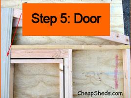Step 5: Door