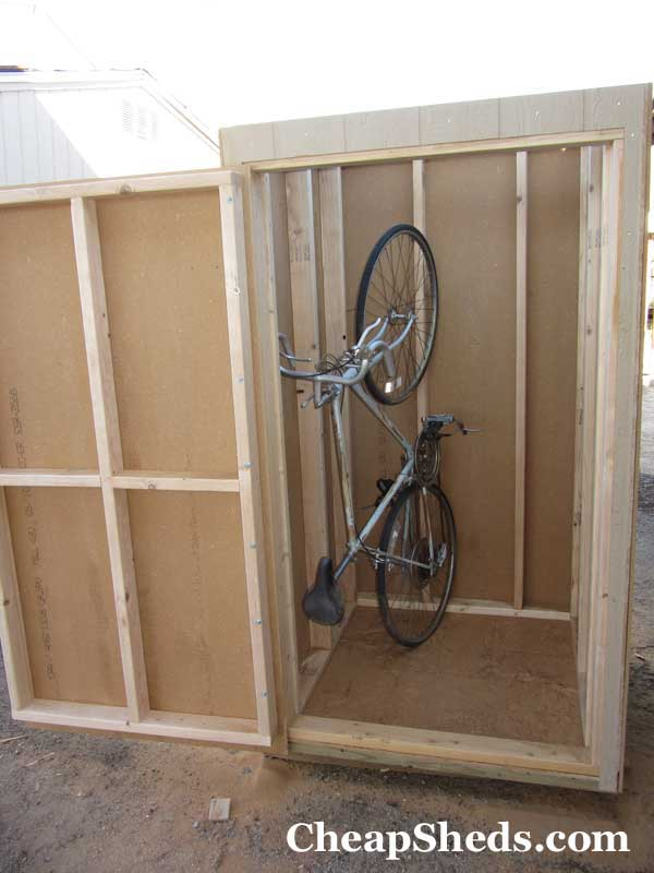 Vertical Bike Shed 17
