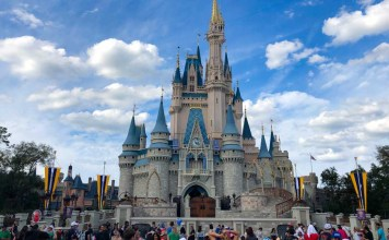 castelo magic kingdom -- Parques da Disney Orlando