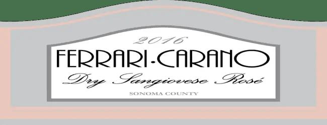 Ferrari-Carano Dry Sangiovese Rose' 2016