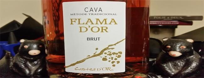 Flama D'Or Cava Rose' Brut