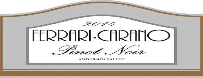 Ferrari-Carano Anderson Valley Pinot Noir 2014