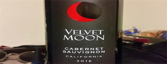 Velvet Moon Cabernet Sauvignon 2016