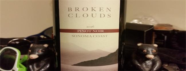 Broken Clouds Sonoma Coast Pinot Noir 2016