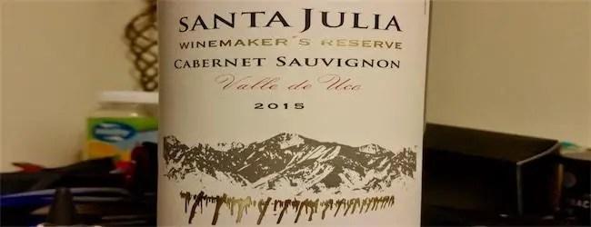 Santa Julia Winemaker's Reserve Cabernet Sauvignon 2016