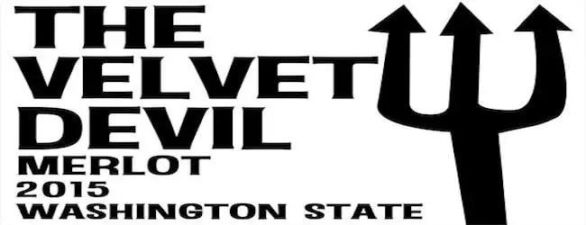 The Velvet Devil Merlot 2015