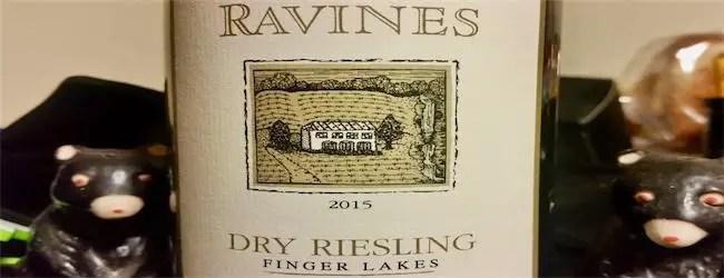 Ravines Dry Riesling 2015