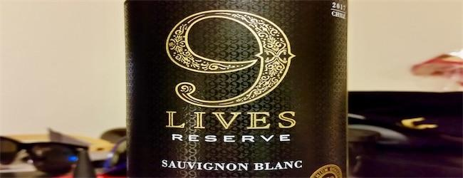 9 Lives Reserve Sauvignon Blanc 2017