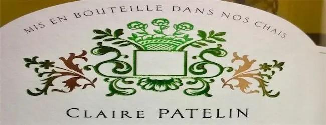 Claire Patelin Cotes de Gascogne Sauvignon Blanc 2017