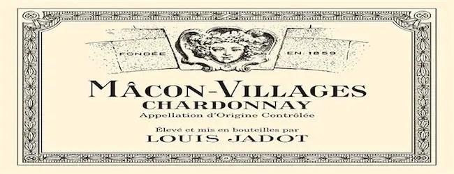 Louis Jadot Mâcon-Villages Chardonnay 2017