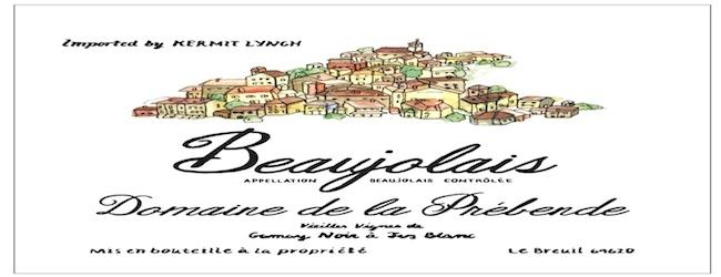 Domaine de la Prébende Beaujolais 2017