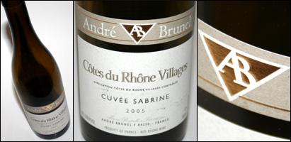 Andre Brunel Cuvee Sabrine