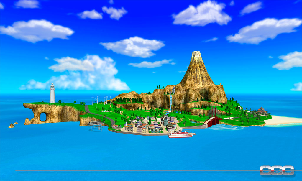 Star Wars Animated Wallpaper Pilotwings Resort Preview For Nintendo 3ds 3ds