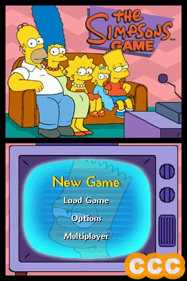 The Simpsons Game Review for the Nintendo DS NDS
