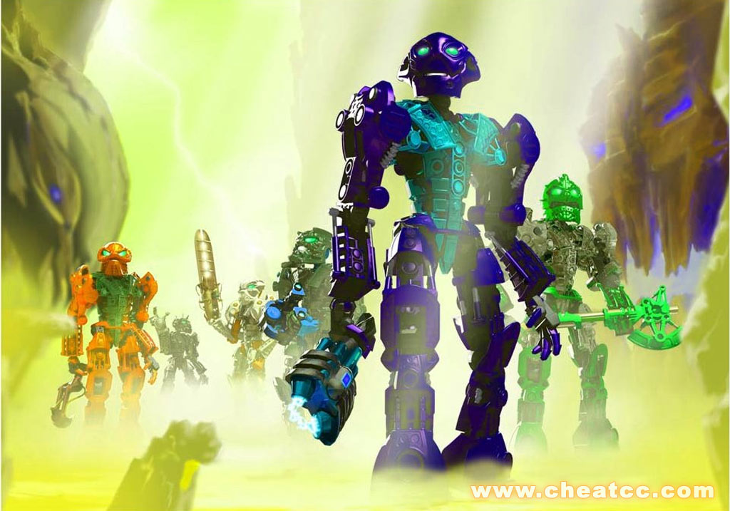 Bionicle Heroes Preview for the GameCube GC