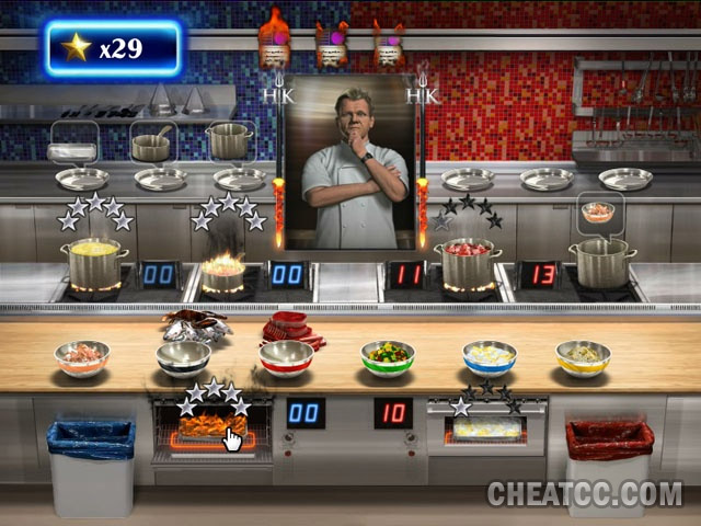 Hells Kitchen Review for the Nintendo Wii